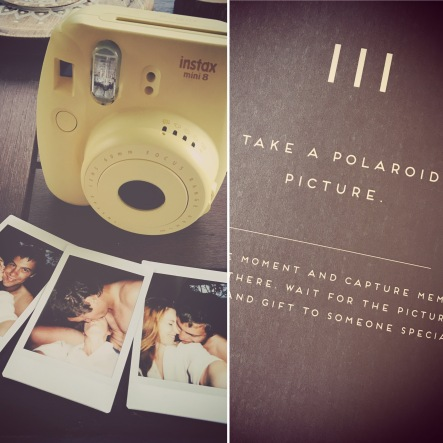 Take a polaroid picture